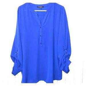 Ellen Weaver blue tunic
